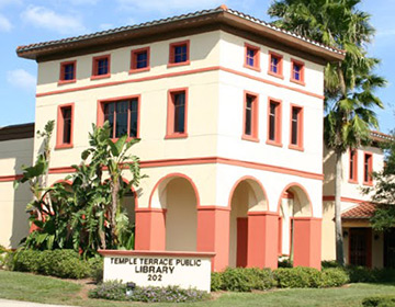 Temple Terrace Public Library building